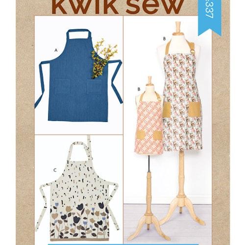Kwik Sew k4337 Vuxen Barn Förkläde