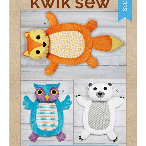 Kwik Sew k4339 Inredning Dekoration Kudde Filt