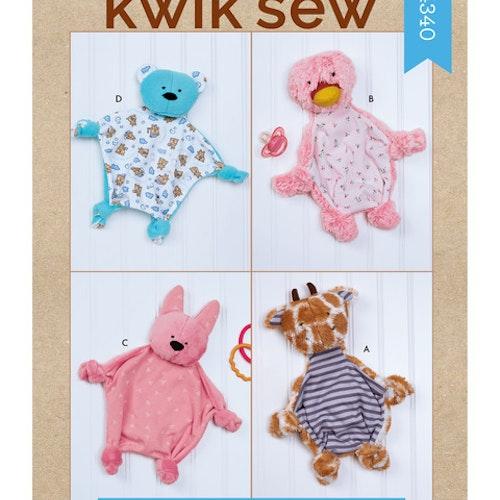 Kwik Sew k4340 Inredning Dekoration Babyfilt