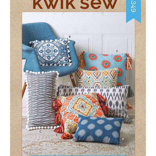 Kwik Sew k4349 Inredning Dekoration Kuddar