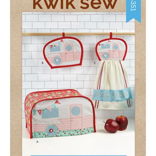 Kwik Sew k4351 Inredning Dekoration Handduk Grytlapp