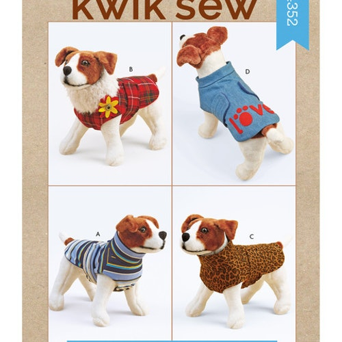 Kwik Sew k4352 Djur kläder