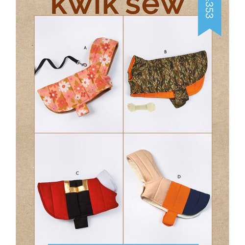Kwik Sew k4353 Djur kläder hund