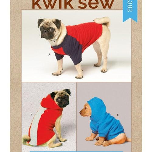 Kwik Sew k4382 Djur kläder hund