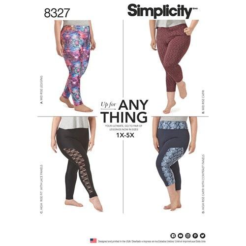 Simplicity 8327 A Dam Storlek 1X-5X