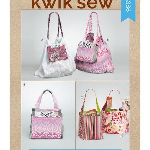 Kwik Sew k4386 Pyssel &Presenter Väska Förvaring