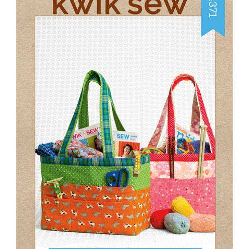 Kwik Sew k4371 Pyssel &Presenter Väska Förvaring