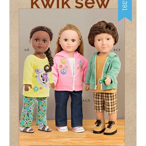 Kwik sew k4391 Dockkläder