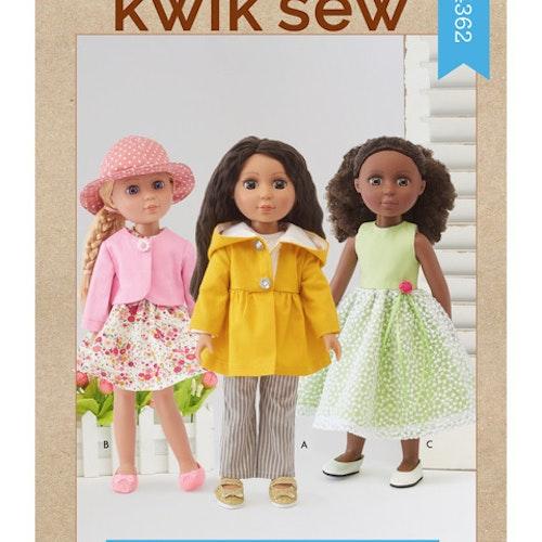 Kwik sew k4362 Dockkläder
