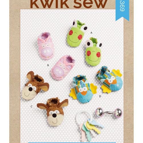 Kwik Sew 4369 Baby Tofflor