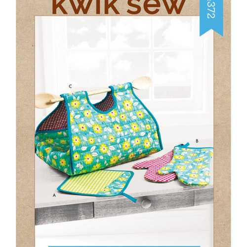 Kwik Sew k4372 Inredning Grythållare Grytlapp Grythandske