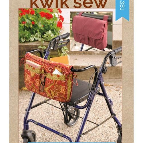 Kwik Sew k4381 Inredning Rullatorväska
