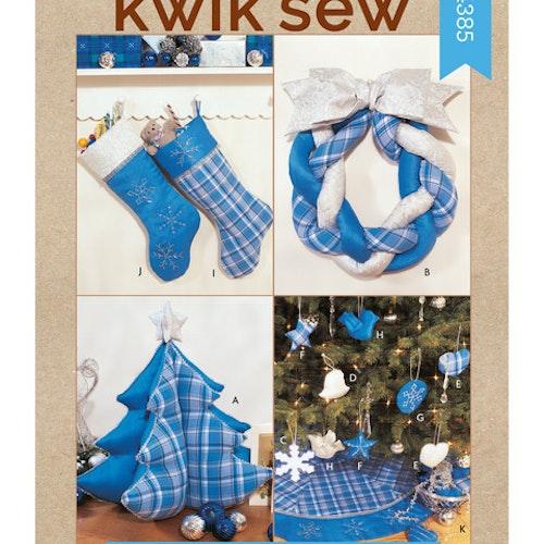 Kwik Sew k4385 Inredning Jul Dekoration