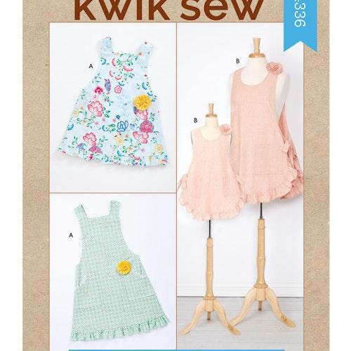 Kwik Sew k4336 Vuxen Barn Förkläde