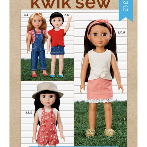 Kwik sew k4342 Dockkläder