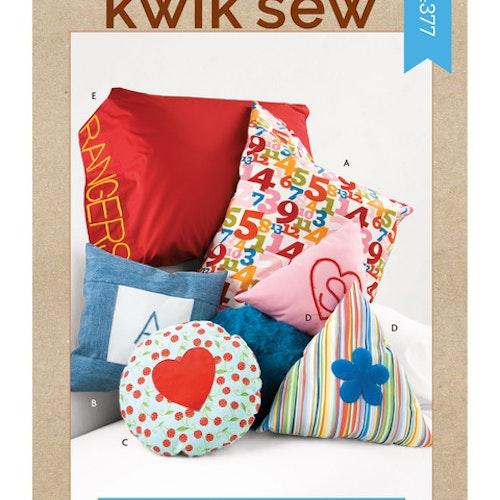 Kwik Sew k4377 Inredning Kuddar Kuddfodral