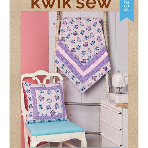 Kwik Sew k4354 Inredning Filt Kudde