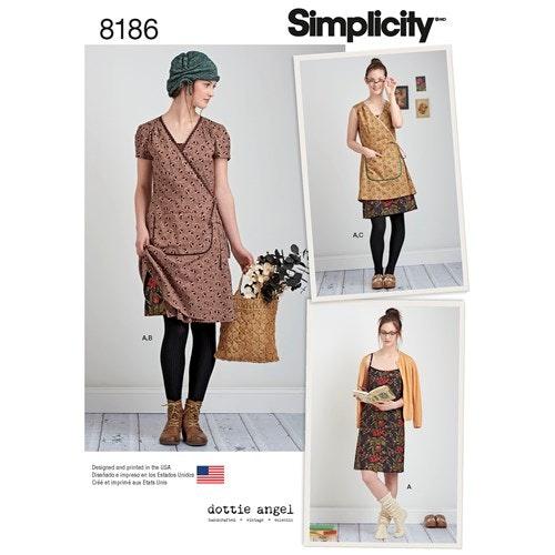 Simplicity 8186 D5 Storlek 30-38 Flera plagg