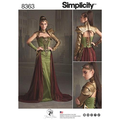 Simplicity 8363 H5 Dam Storlek 32-40
