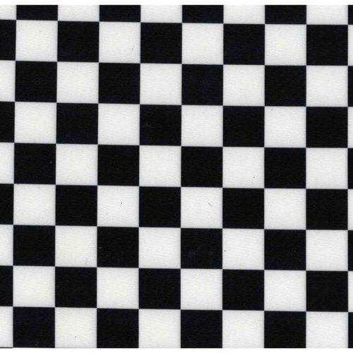 Lycra Chess Black and White