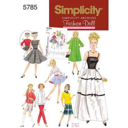Simplicity 5785 Dockkläder