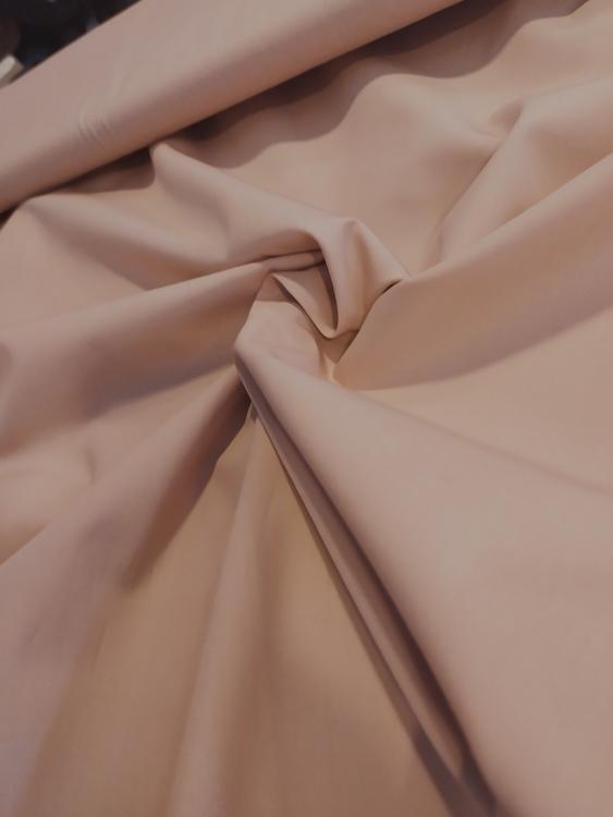 Bomullspoplin - ljusrosa