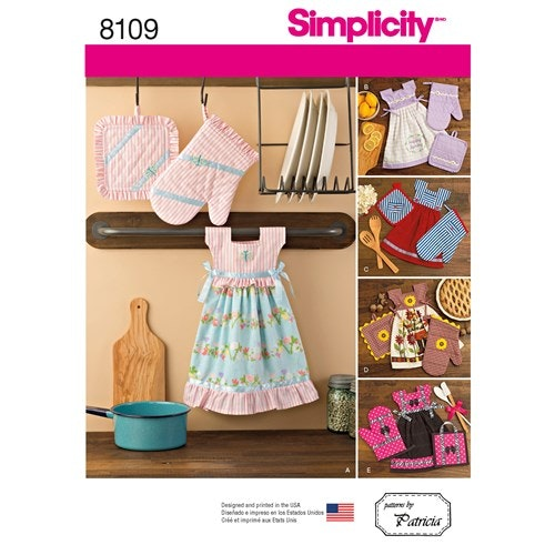 Simplicity 8109 OS Kökstextilier