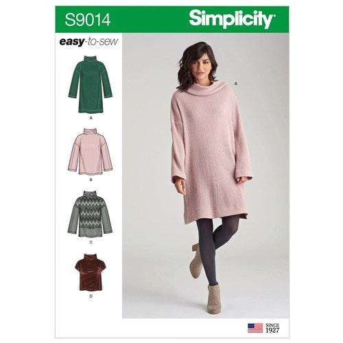 Simplicity 9014 A storlek XXS-XXL Överdel