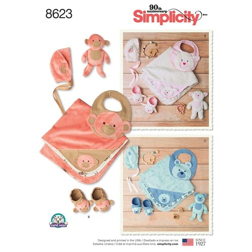 Simplicity 8623 A Baby Tillbehör