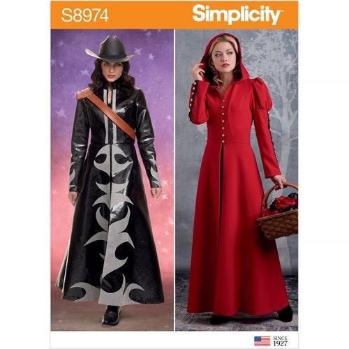 Simplicity 8974 R5 Dam Storlek 40-48