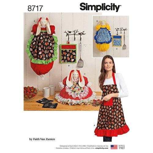 Simplicity 8717 OS Kökstextilier