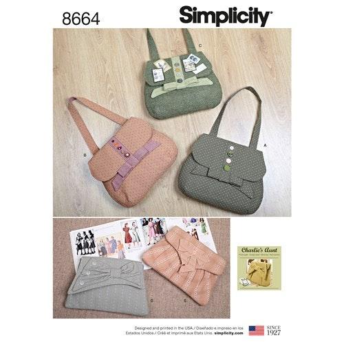 Simplicity 8664 OS Väskor