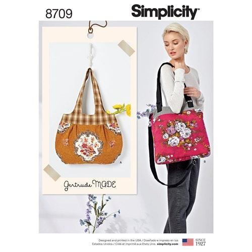 Simplicity 8709 OS Väskor
