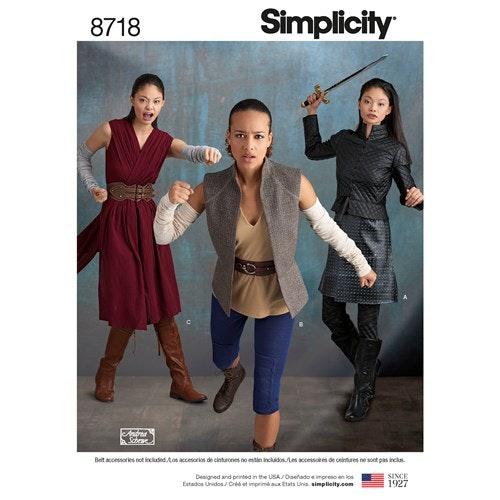 Simplicity 8718 H5 Dam Storlek 32-40