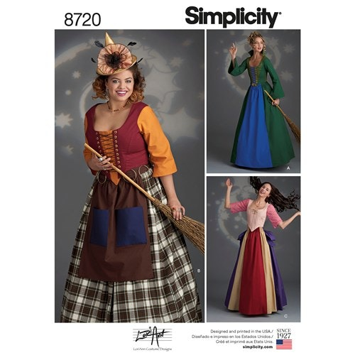 Simplicity 8720 H5 Dam Storlek 32-40