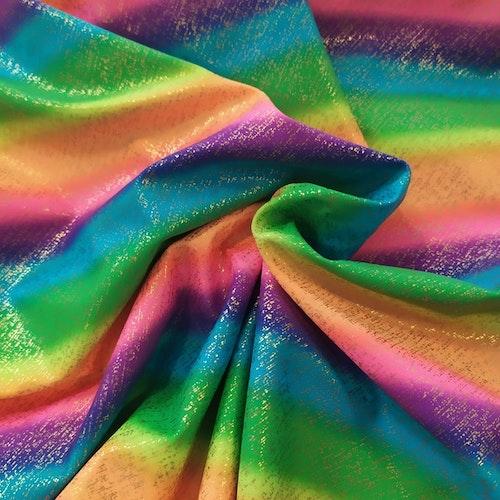 Lycra Rainbow Stripes Diagonal