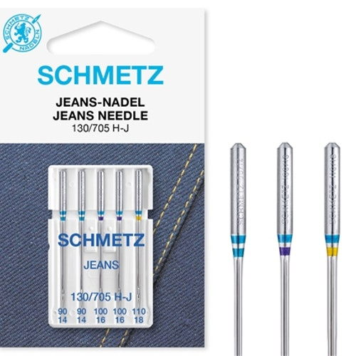 Nål TEXI - Schmetz Jeans 90-110