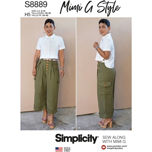 Simplicity 8889 H5 Dam Storlek 32-40 Flera plagg