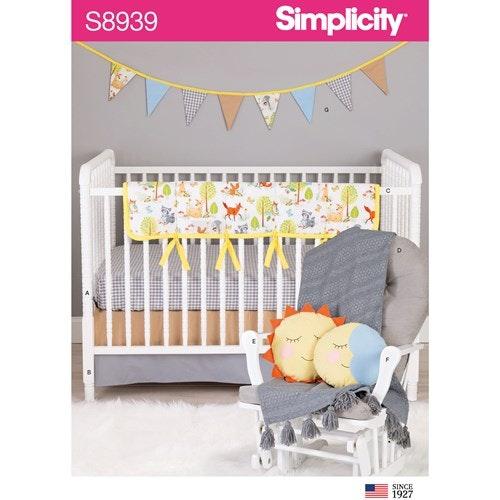 Simplicity 8939 OS Barn Barnkammar inredning
