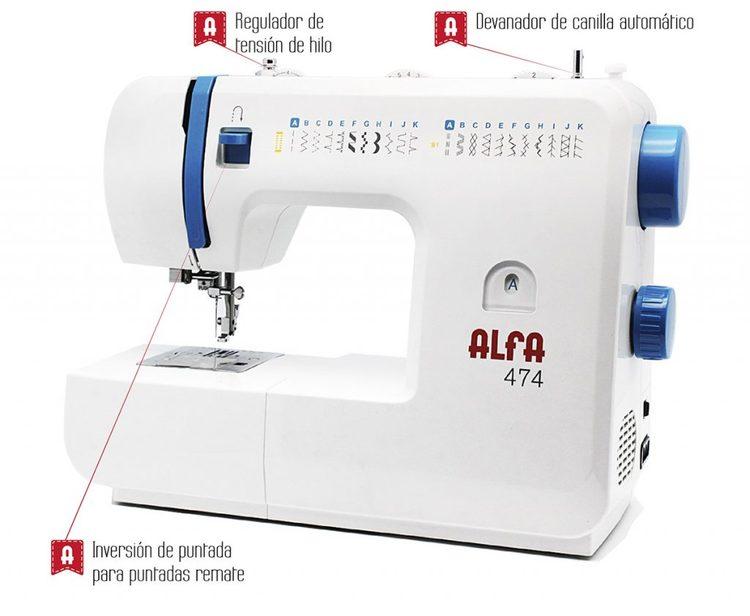 Alfa Hogar Heavy Duty 474 symaskin