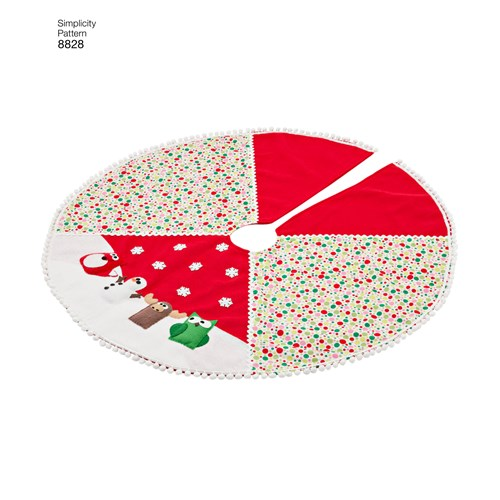 Simplicity 8828 OS Övrigt Juldekorationer
