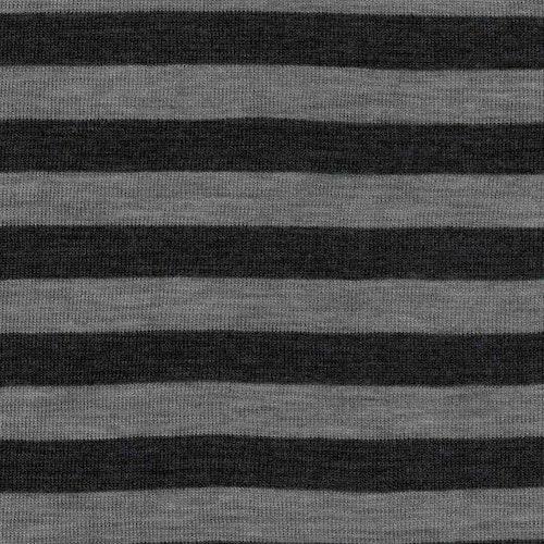 Yllejersey - antracit / grå Randig MULESING FRI