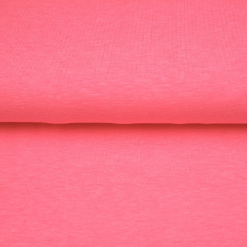 College flossad baksida - Neon Rosa