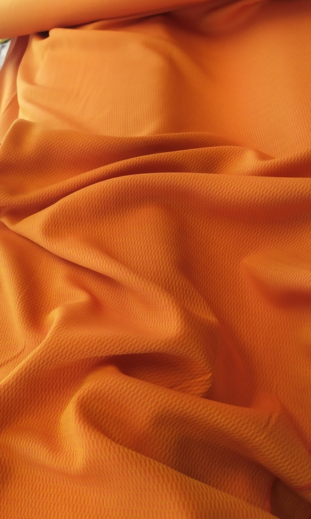 Vävd viskos - Woven Orange