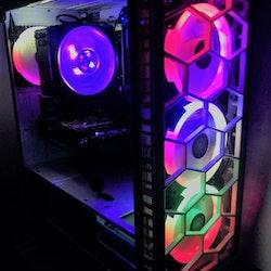 Custombuild RGB i7-9700K AMD RX 6700 XT 12 GB