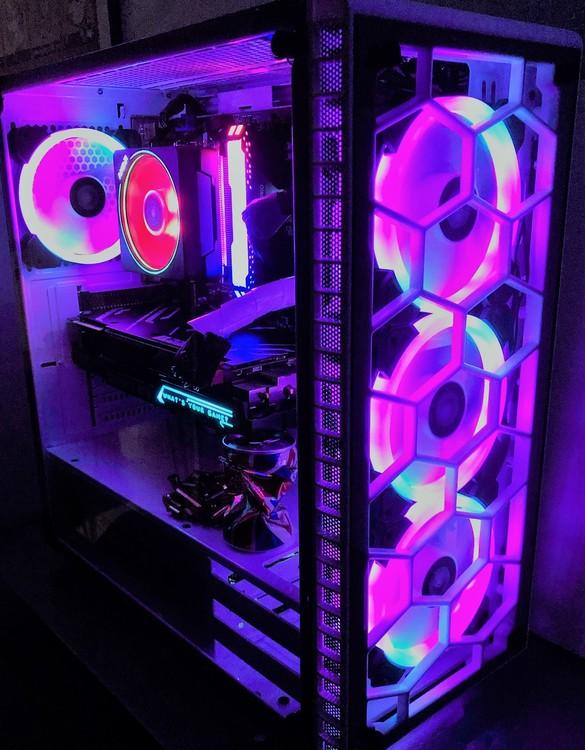 Custombuild RGB i9-9900KF RTX 3070