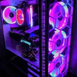 Custombuild RGB i9-9900KF RTX 3060 12 GB