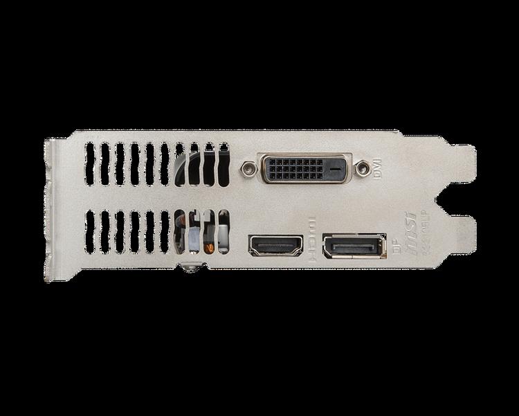MSI GTX 1050 TI 4GT LP 4GB GDDR5