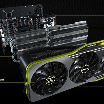 Asrock RX 6900XT OCF 16GB DDR6 Drei-Lüfter 256b retail