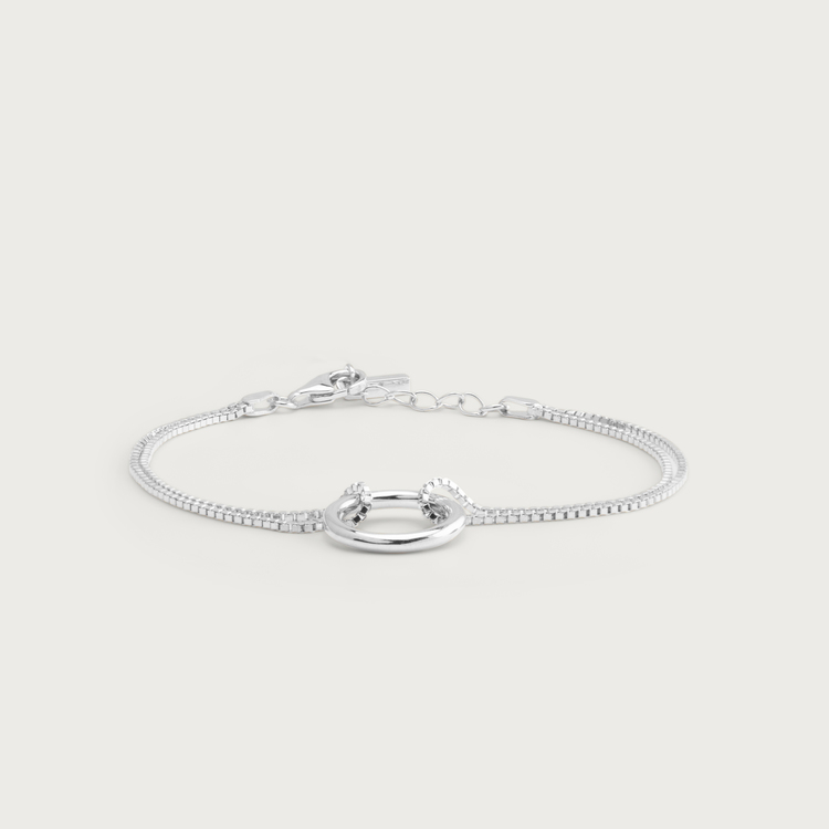 bold armband silver